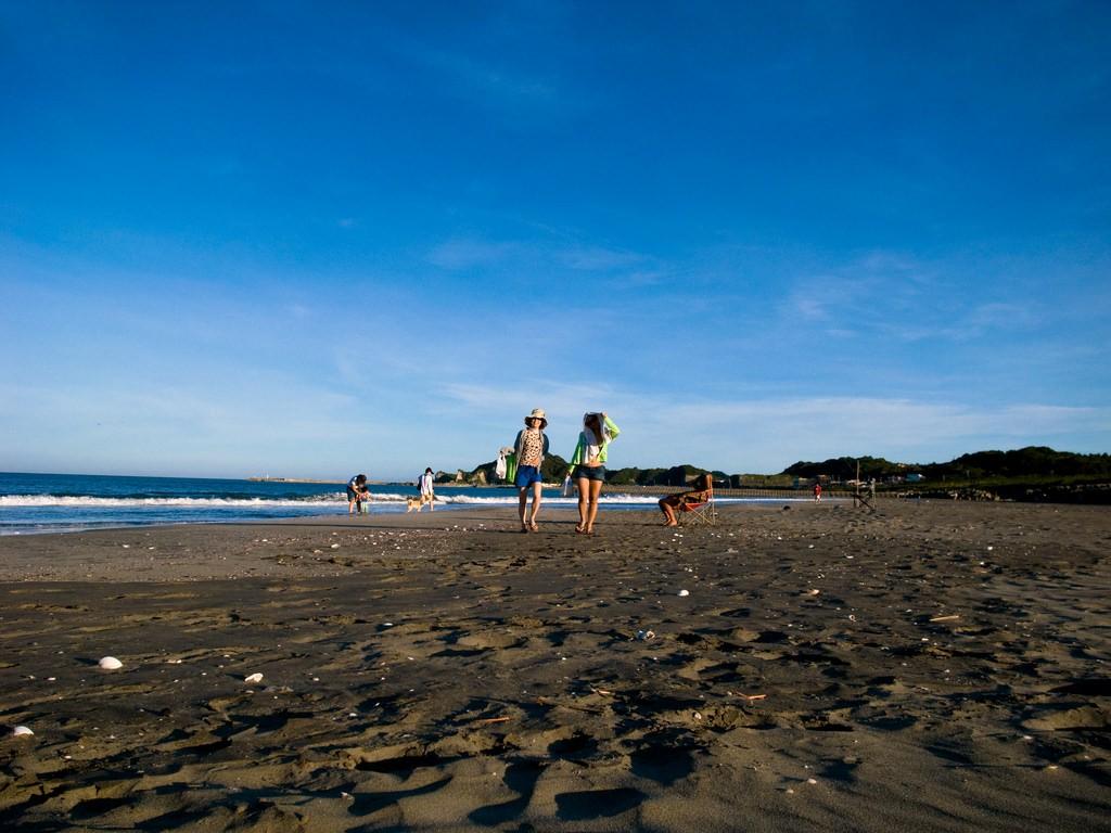 日本千葉縣「九十九里濱」海灘(翻攝自Flickr)