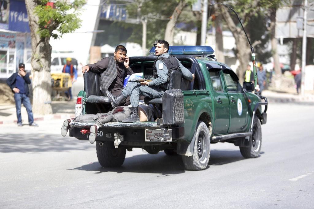 阿富汗首都爆自殺炸彈攻擊 「伊斯蘭國」已承認犯行