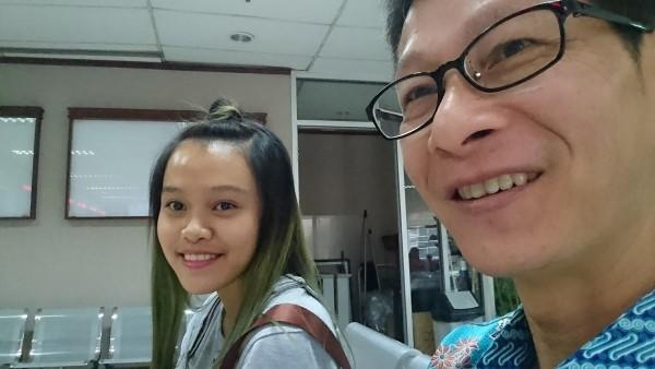 Anindita (left), Cheng (right).