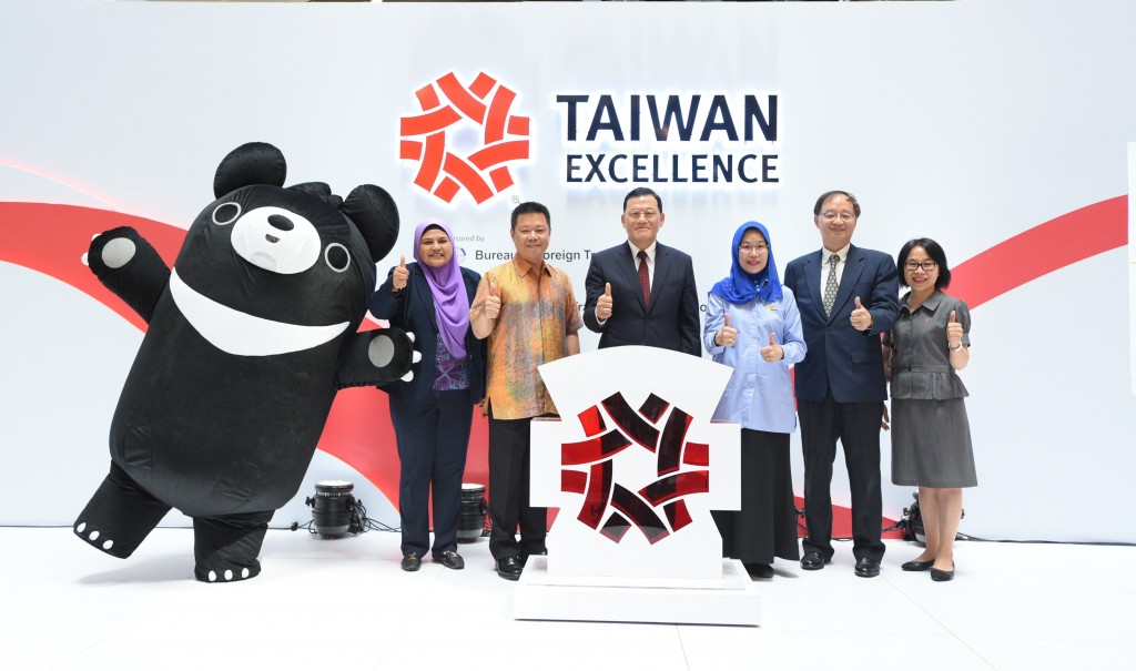 Taiwan rep. to Malaysia James Chang Chi-ping attends the 2016 Taiwan Excellence showcase in Kuala Lumpur, July, 2017 (Image from TECO Malaysia)