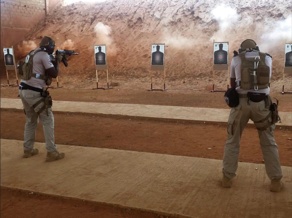圖為美軍在奈及利亞的特種部隊。2017年全球軍費支出,美國依然位居第一。美聯社