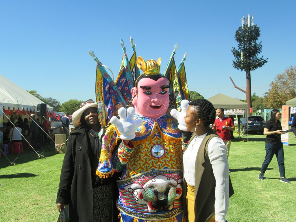 The Taiwan Carnival held on May 5 in Johannesburg, South Africa