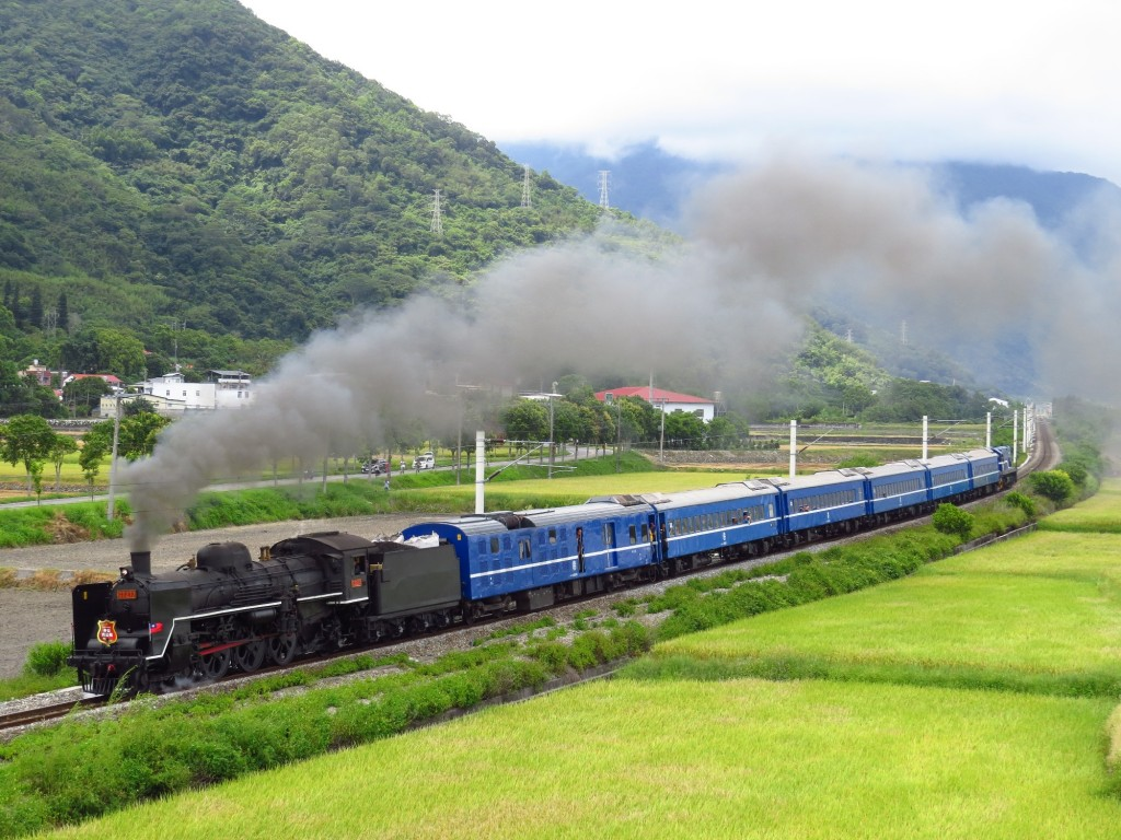 Taiwan's midsummer steam locomotive is back. (Image from TRA)