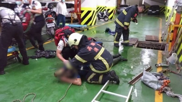 (Photo from Kaohsiung Fire Department)