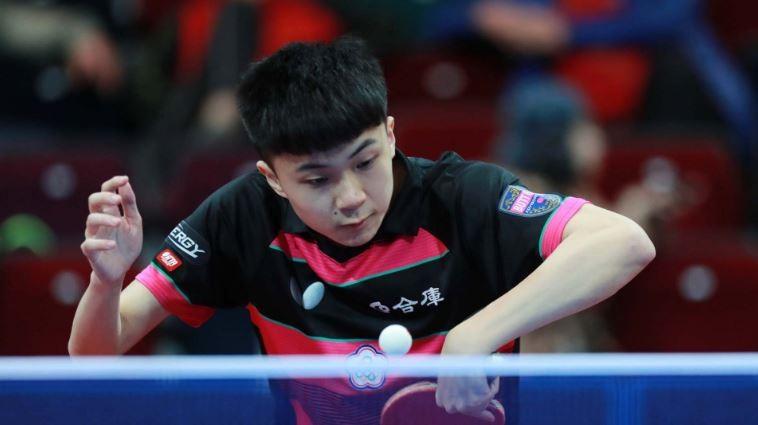 我國桌球小將林昀儒(翻攝自國際乒乓球聯合會官方網站)