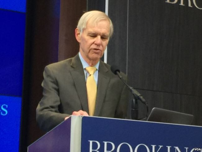 Richard C. Bush III at the Brookings Institute