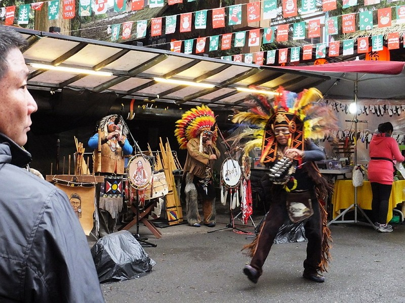 Performers from Bolivia (Image from Wikimedia Commons)