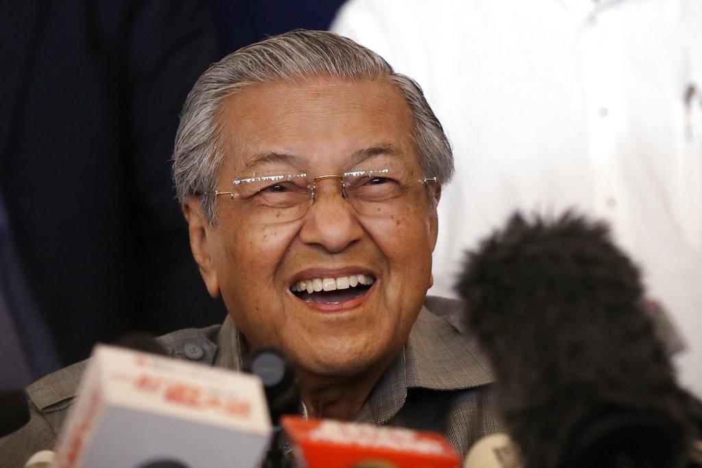 馬來西亞總理馬哈迪(美聯社)