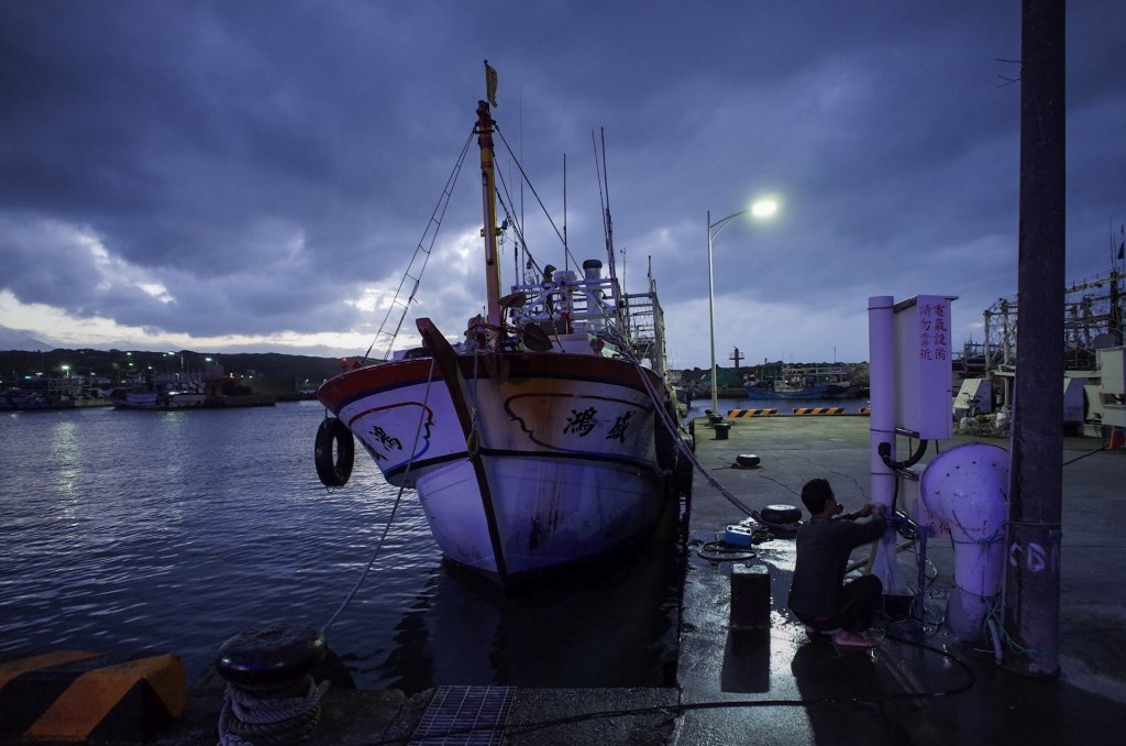 A vessel in Fuji Fishing Port  (Photo courtesy of Andy Ip Gia Thien)