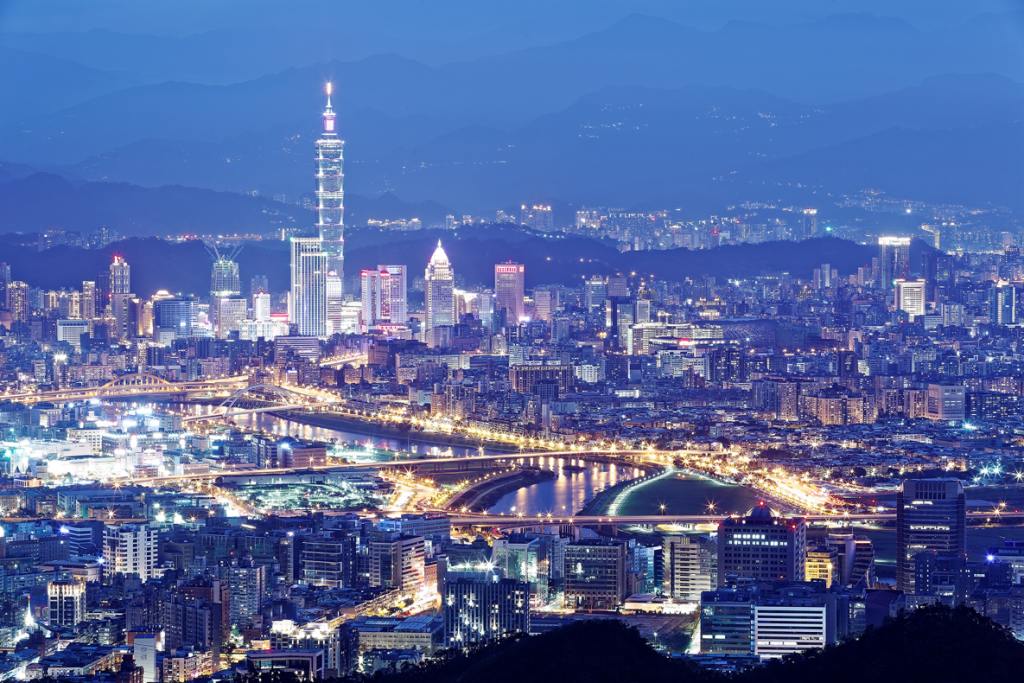 Taipei City welcomes tech integration. (Image from Smart City website)