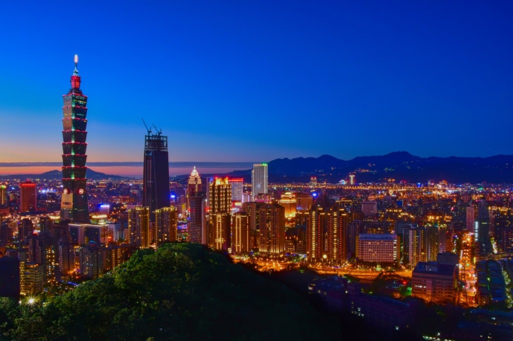 The photo shows Taipei 101 (Image credit: pxhere)