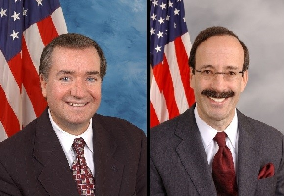 Congressmen Royce (left) and Engel (right).