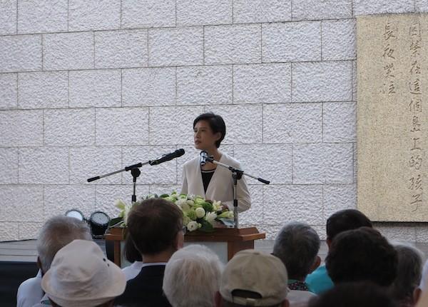 文化部長鄭麗君17日至綠島出席國家人權博物館揭牌典禮
