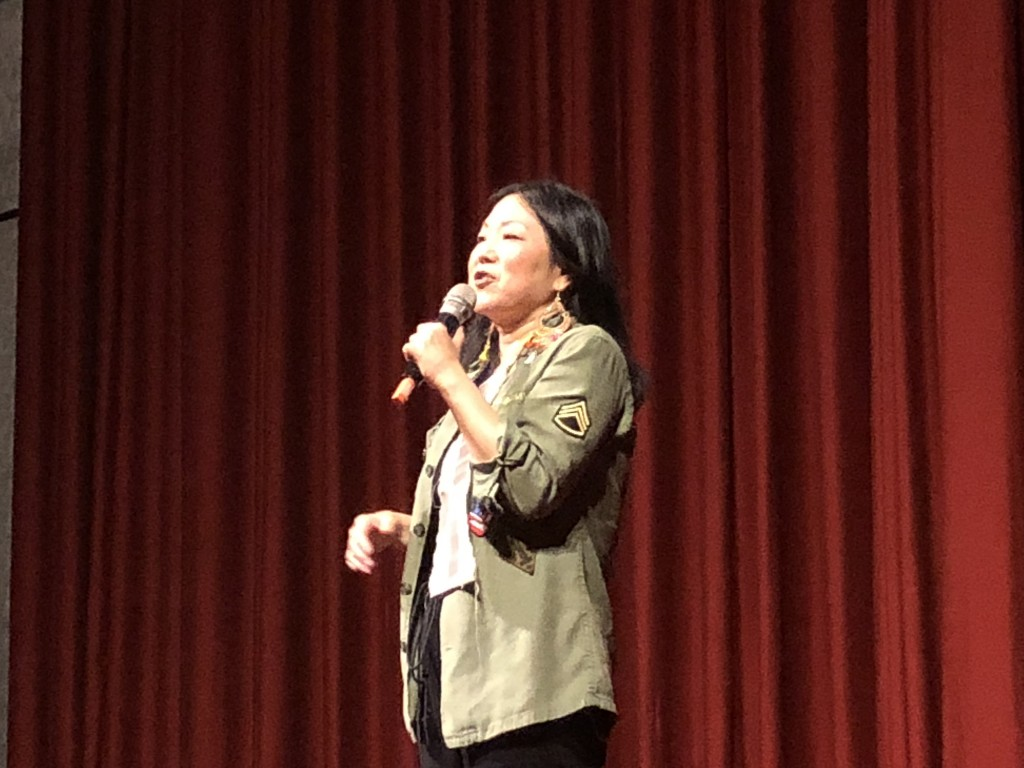Margaret Cho, live in Taipei.