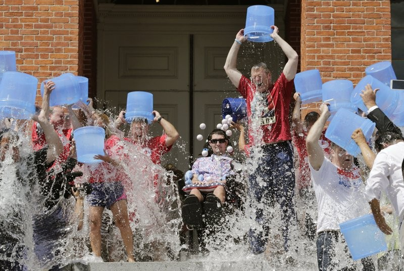 The Ice Bucket Challenge raised millions for research into ALS.