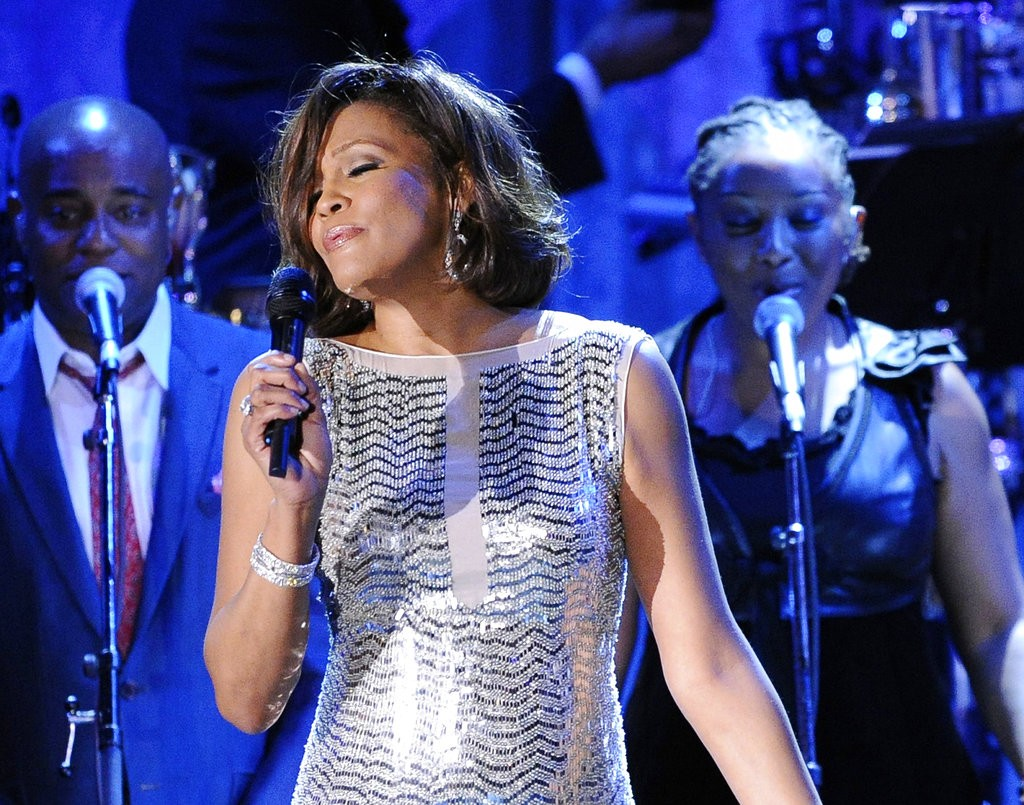 The late singer Whitney Houston (AP File photo)