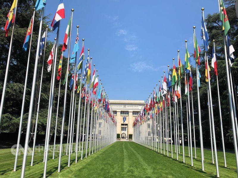 世界衛生大會(WHA)21日將在聯合國歐洲總部萬國宮舉行。(圖/中央社)