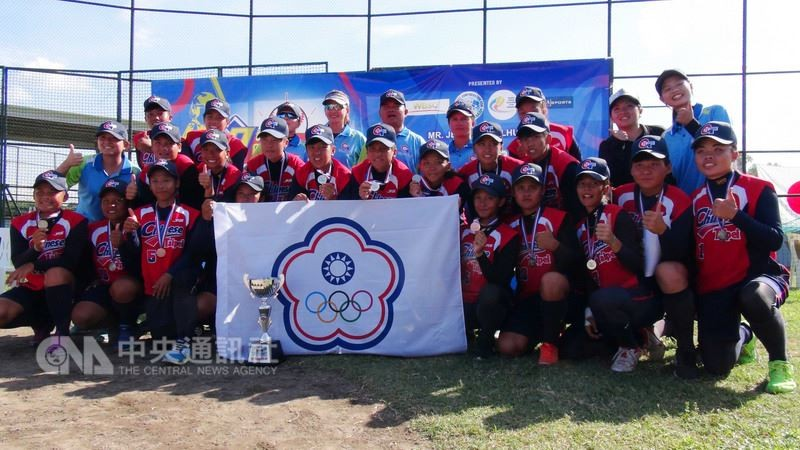 Taiwan grabs silver in 7th Asian Junior Women's Softball Championship