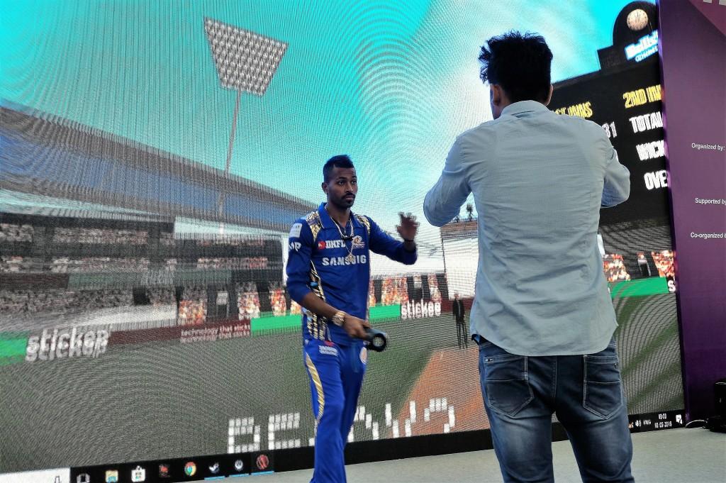 Indian cricket stars visit Taiwan