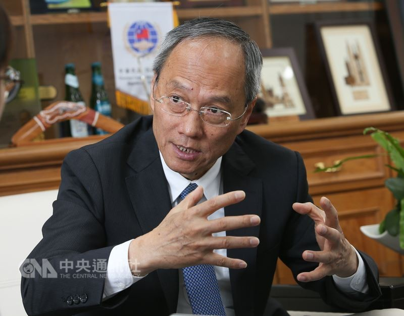 Wu Hsin-hsing (吳新興), Chairman of the Overseas Chinese Affairs Committee, pictured above.