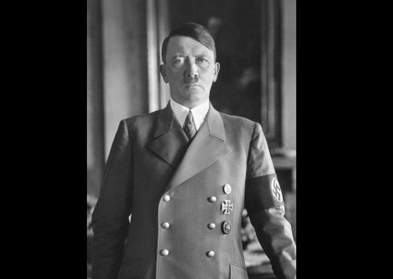 德國納粹領袖希特勒,攝於1938年。(圖/維基百科)