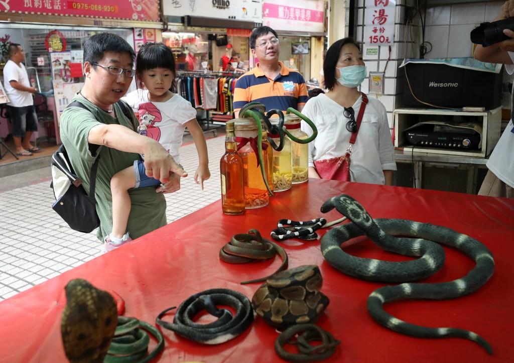 Last serpent shop shutters in Taipei's Snake Alley