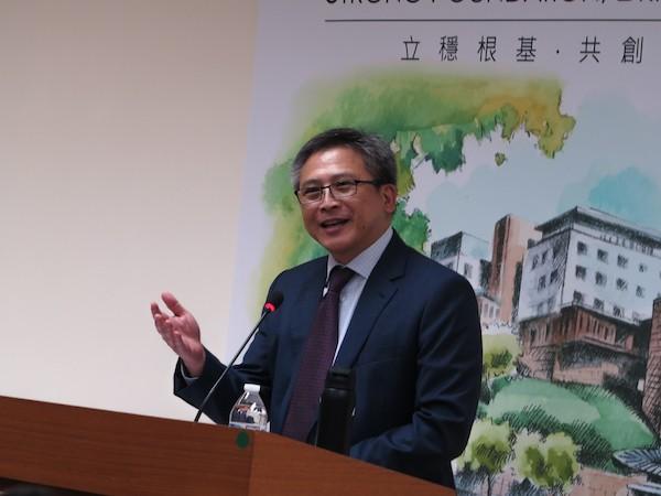 美國在臺協會處長梅健華宣布內湖新址將在6月12日舉行落成典禮