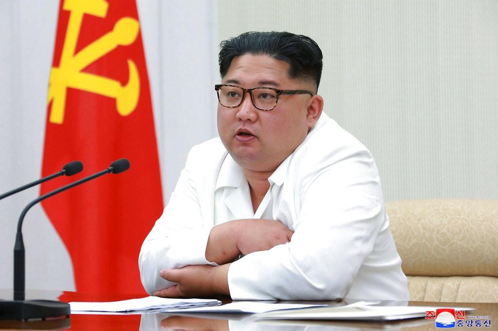 金正恩(朝鮮中央通信。美聯社提供)