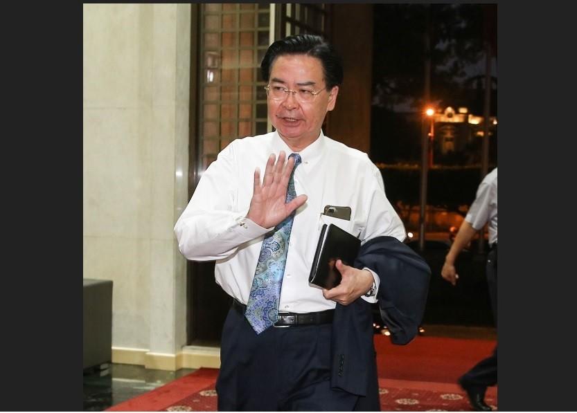 外交部長吳釗燮表示,他已口頭請辭。中央社
