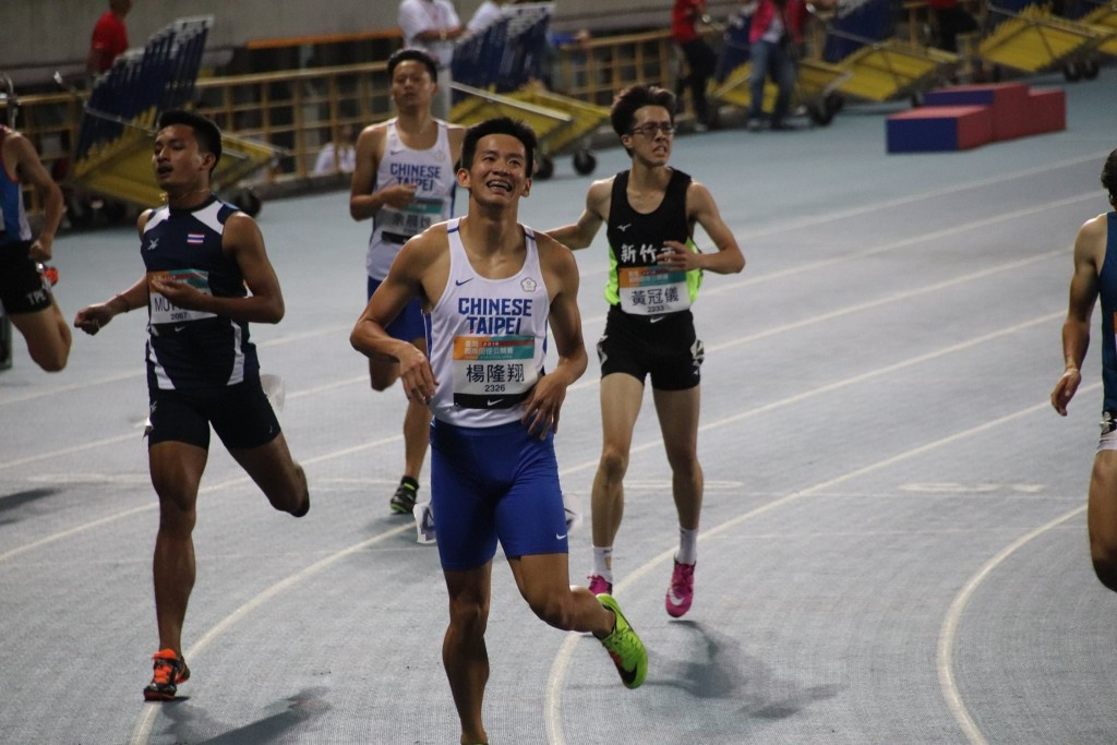 Taiwanese athletes outshine in Taiwan Athletics Open