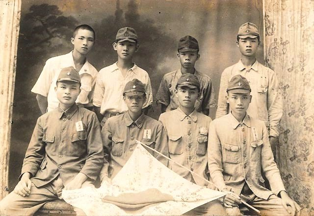 Taiwanese men who served in Japanese Imperial Army.