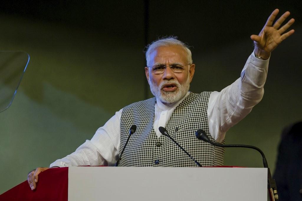 印度總理莫迪(美聯社)