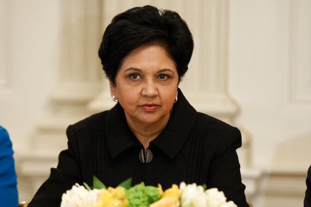 現在有許多跨國企業,是由女性領導,例如百事可樂CEO盧英德(Indra Nooyi,圖中)(美聯社)