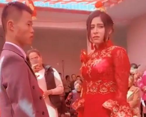 Screenshot from Talk to East Turkestan Facebook video.