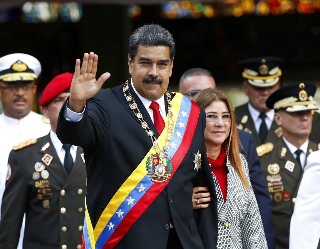 委内瑞拉總統馬杜洛(美聯社)