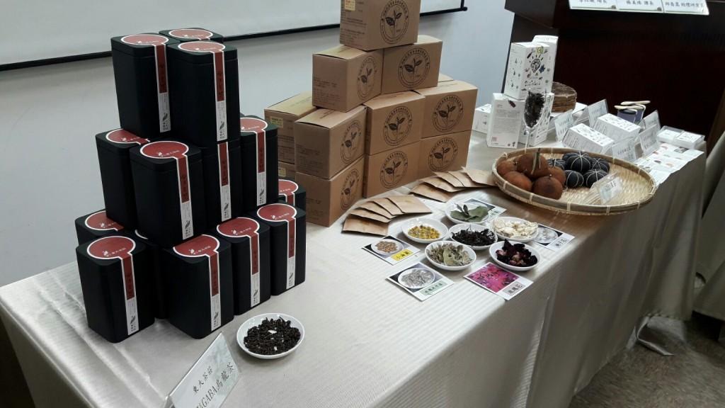 「GABA烏龍茶」茶葉、花果茶等系列產品。