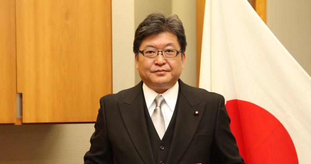 自民黨代理幹事長萩生田光一(翻攝自萩生田臉書)
