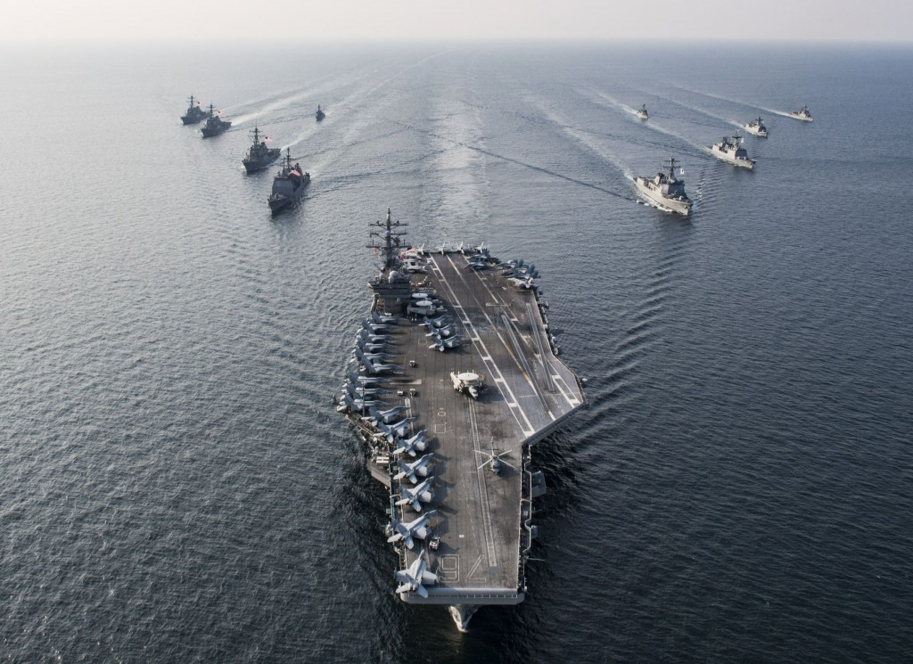 File photo:  US Fleet near Korean Peninsula, 2016 (US Navy Image)