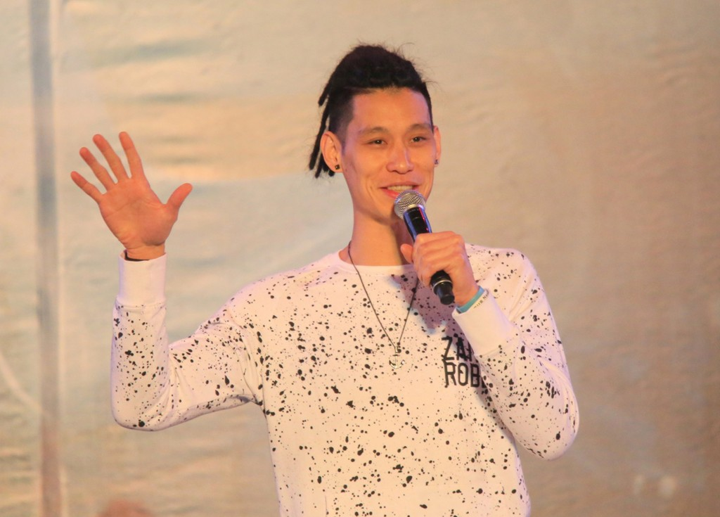 Jeremy Lin at 'Never Done' in Hualien.