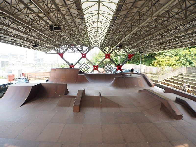 (photo from Taipei City Extreme Sports Training Center 臺北市極限運動訓練中心 Facebook page)