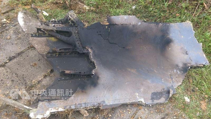 空軍花蓮基地一架F-16戰機4日下午執行漢光演習任務時,在基隆附近空域失聯,在瑞芳山區發現疑似殘骸。  中央社