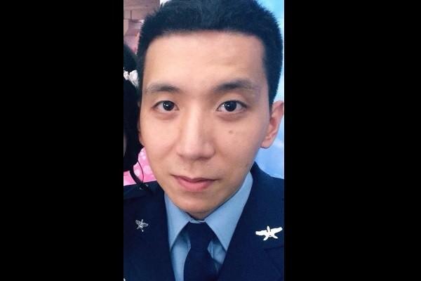 Major Wu Yen-ting. (Image from Wu Yen-ting's Faceb...