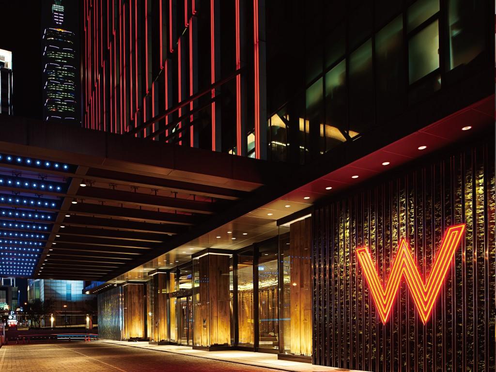 擷取自W飯店官網。