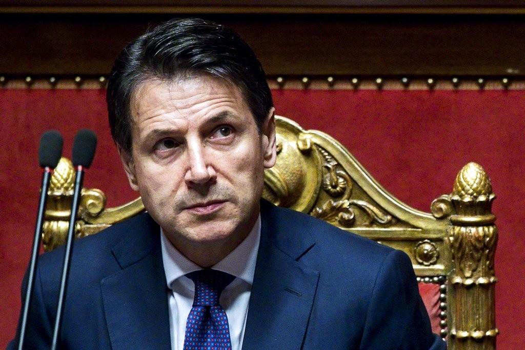 義大利新首相朱塞佩·孔蒂(美聯社)