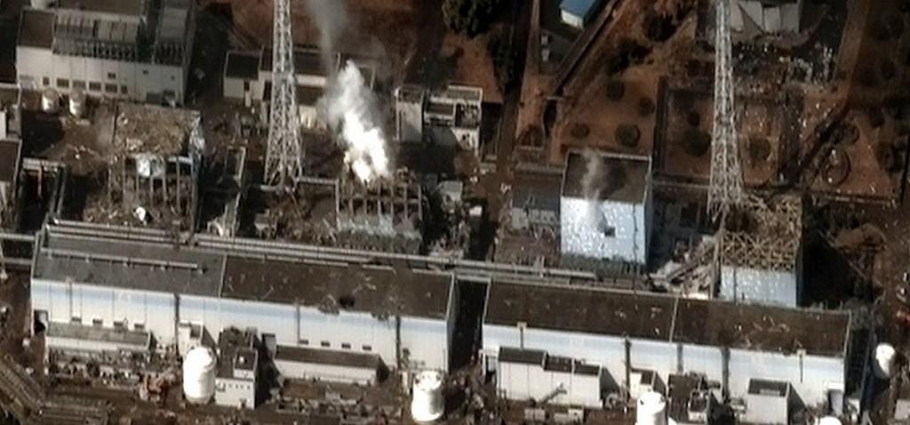 日本福島第一核電廠。