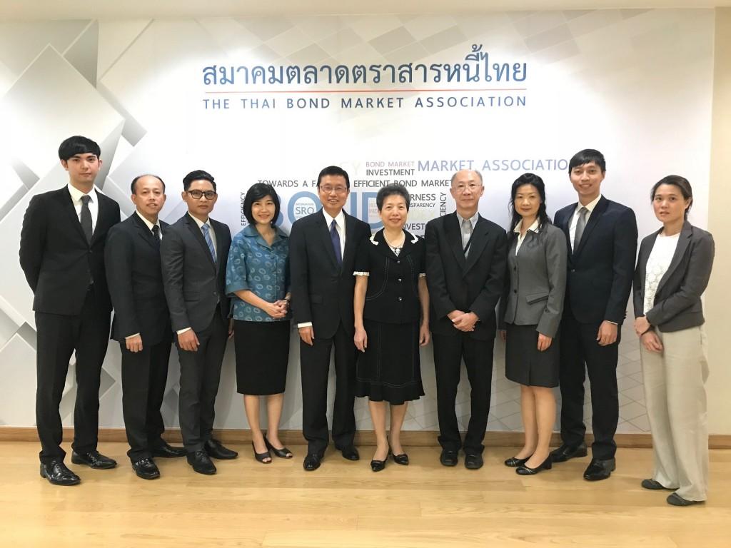 集保結算所推動有價證券無實體化有成,赴泰國「證券產業業務分享研討會」分享成功經驗。
