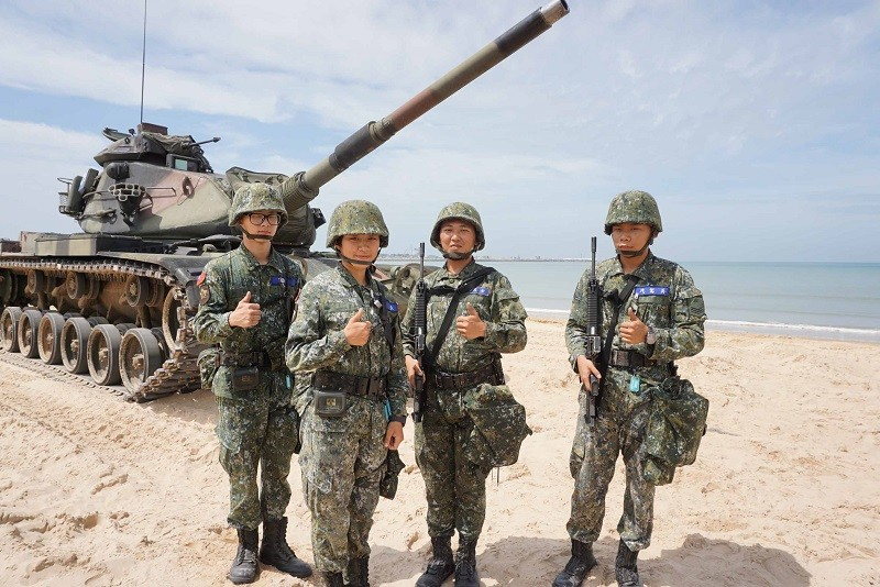 Taiwan drills simulate repulsing Chinese assault on air base