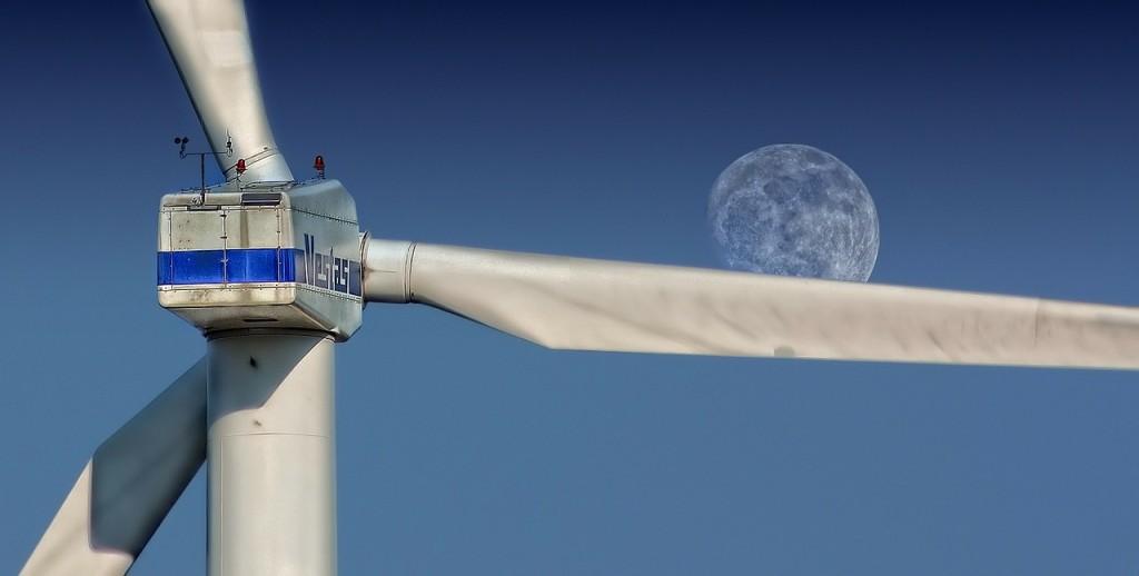 風力發電。(照片來源:Pixabay)