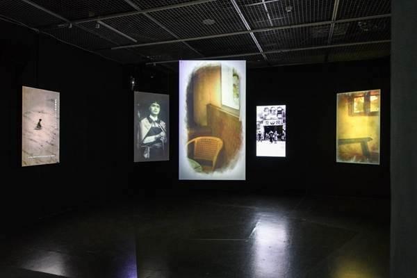 MOCA Studio實驗展場《島嶼的曾在—雪克個展》(照片來源:臺北當代藝術館)