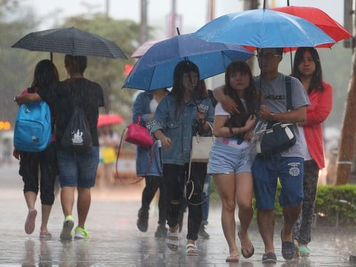 Rain expected until June 12.